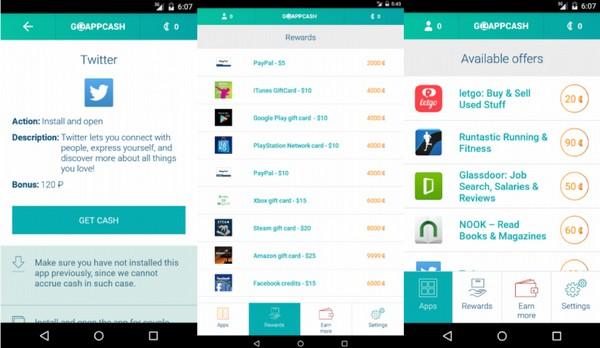Сервис для заработка денег Go App Cash