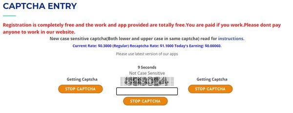 Заработок в CaptchaTypers